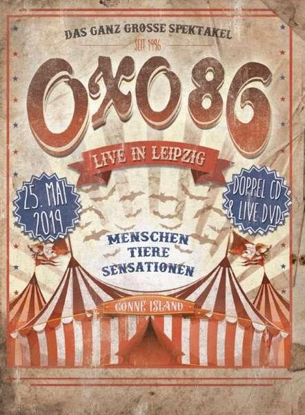 OXO 86 - Live In Leipzig Mediabook - DVD + 2CD