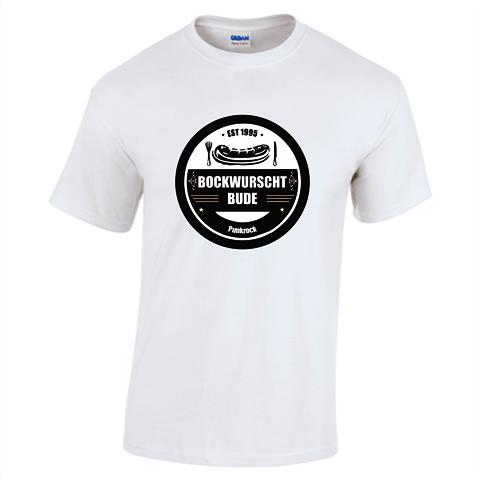 BWB - T-Shirt Weiß - Logo