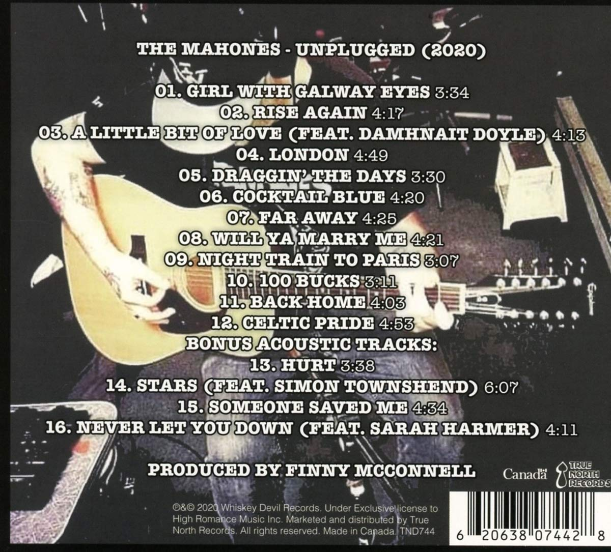The Mahones - unplugged - CD